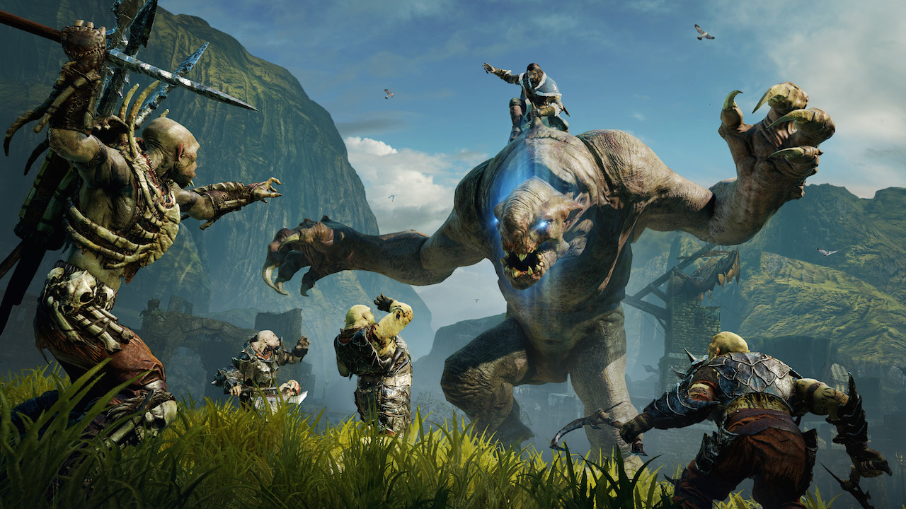 Middle Earth Shadow of Mordor STEAM CD KEY